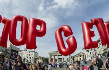 CETA – Résistez à la pression ! L'appel des jeunes socialistes européens