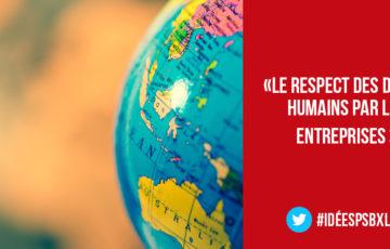 Vers un monde global et régulé – discours de Delphine Houba