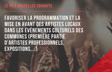 Bruxelles à l'écoute de ses artistes